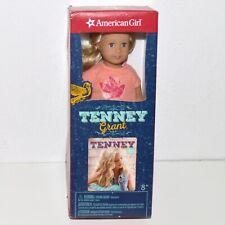 "American Girl Tenney Grant 6"" Mini Doll w/ Book Singer Retired New Sealed"