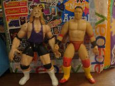 WWE Ken Shamrock & Al Snow Wrestling Action Figure Jakks WWF ECW WCW NWO lot NAO