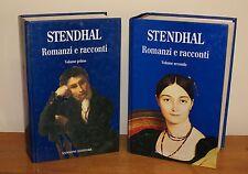 Stendhal - Romanzi e racconti - 2 volumi - Prima ed. Sansoni 1993