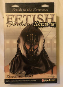 FETISH FANTASY EXTREME medieval executioner hood shop4lovers