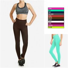 High Waist Long Legging Seamless Soft Stretchy Fabric Exercise Yoga Pants Ex905