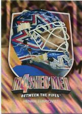 11/12 BETWEEN THE PIPES MASKED MEN 4 SILVER MASK #MM-27 HENRIK LUNDQVIST *48322