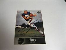 Mike Ditka Autographed Card JSA Auction Certified