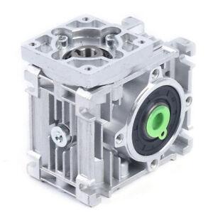 Worm Gearbox Worm Gear Reducer NEMA23 Speed Ratio 50 60 80:1 NEMA23-030 14mm NEW