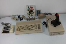 Commodore 64 II ordinateur avec 1541 C Floppy/manette de jeu/Datasette/Jeux