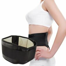 Magnetic Self-Heating Lower Back Lumbar Waist Pad Belt Support Protector WD EO