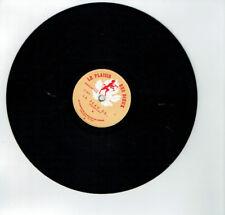 78T 25cm TONUS SALLE DE GARDE Disque Phono Chanté LA PEAU DE..PLAISIR DIEUX 0810