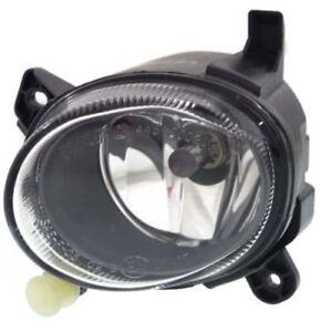 For A5 Quattro 08-12, Driver Side Fog Light, Clear Lens, Plastic Lens