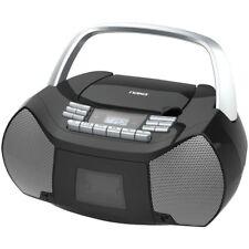 NEW NAXA Electronics NPB-268 Portable CD/Cassette Boombox AM/FM Radio Player