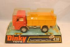 Dinky Toys 438 Ford D800 Tipper Truck 99% mint in a SUPER box NEVER OPENED