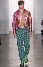 ADIDAS JEREMY SCOTT JS BONDAGE SWEATPANTS STARS Size M pants leopard W60483