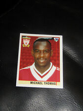 Michael Thomas sticker Merlin Premier League 96 95 1996 football Liverpool