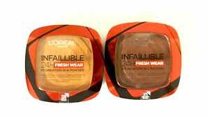 L'Oreal Paris Infallible 24H Fresh Wear Foundation In A POWDER - Please Choose: