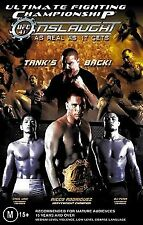 UFC #41 - Onslaught (DVD, 2004)*Region 4*Tank's Back*Terrific Condition
