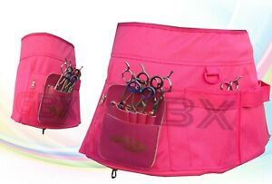New Professional Pink PU Leather Hairdressing Barber Apron Skirt Barber Stylist