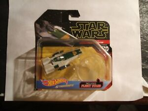 2019  HOT WHEELS, CARS, STAR WARS, ENTERTAINMENT  (  A-WING FIGHTER   )