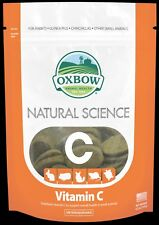 Oxbow Natural Science Vitamin C for Small Animals - 60 hay tablets