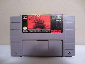 Super Nintendo Super Battletank 2 Game Cartridge SNES 1994 TESTED