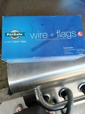 New listing Pet Safe Extra In-Ground Fence 500 ft Boundary Wire & 50 flags! Brand new!
