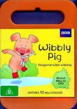 Wibbly Pig: Playtime with Wibbly * NEW DVD * (Region 4 Australia)