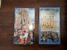 Monty Python's The Meaning of Life & Life of Brian lot British Comedy New Sealed