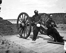 New 8x10 Civil War Photo:  Battery Bee on Sullivan's Island, Charleston Harbor
