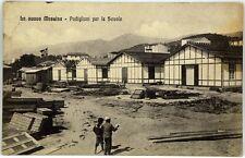 Cartolina Formato Piccolo - La Nuova Messina - Padiglioni Per Le Scuole Viaggiat