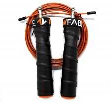 CrossFit Speed Jump Rope Adjustable Wire Cable Skipping Double Unders Cardio MMA