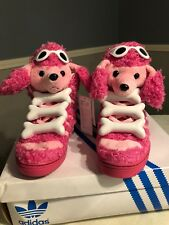 NEW!!! Jeremy Scott Pink Poodle, Bones Tribute, Size 10 RARE!