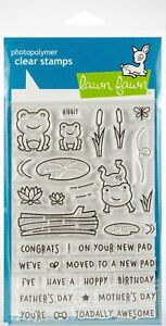 Lawn Fawn Toadally Awesome Clear Stamps