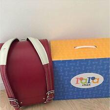 NEW Japanese Backpacks Randoseru School Bag RED Rara chan Free shipping