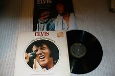Elvis Presley LP, A Legendary Performer Vol. 1, RCA CPL1- 0341, VG+