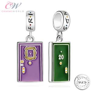 Friends Purple Door Charm Genuine 925 Sterling Silver- F.R.I.E.N.D.S TV Show 💞