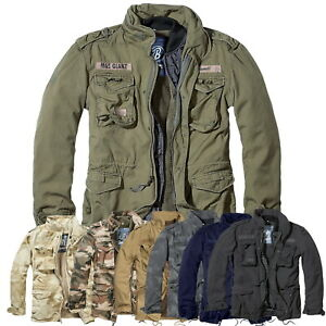 Brandit Herren M65 Giant 2in1 Feldjacke Winter Parka US Style Army Field BW Neu