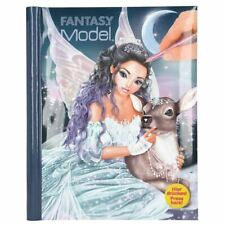Fantasy Model Colouring Book With LED & Sound ICEPRINCESS