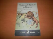 C S Lewis The Lion Witch & the Wardrobe 1st ed 1st print paperback Puffin 1959