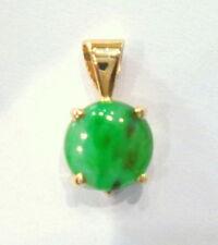 Jadeite Yellow Gold Fine Necklaces & Pendants