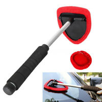 Microfiber Windshield Clean Car Auto Wiper Cleaner Glass Window Tool Brush NEW