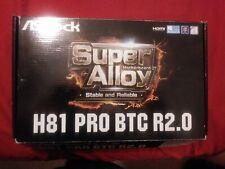 ASRock H110 Pro BTC+ LGA 1150/Socket H3 Motherboard celeron G1840 cpu