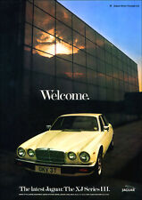 JAGUAR XJ RETRO A3 POSTER PRINT FROM CLASSIC 70's ADVERT