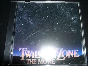 The Twilight Zone – The Movie Original Soundtrack CD By Jerry Goldsmith