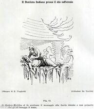 DENTISTA INDIANO:BUDDA E IL MAL DI DENTI.Medicina.Dentiste.Dentist.Zahnarzt.1929