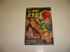 1950 The Big Eye by Max Ehrlich, Popular Library, PB, Science Fiction, Sci-fi