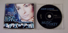 Single CD Sarah Connor feat. Naturally 7 - Music is the Key 3 Tracks  MCD S 29