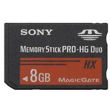 SONY MEMORY STICK PRO HG DUO HX 200x 8GB 8 GB PER PSP