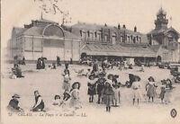 62 - CPA - Calais - der Strand und Le Casino