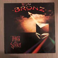 BRONZ Taken By Storm 1983 UK vinyl LP