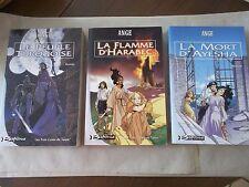 Ange (G. Elton Ranne). Les trois Lunes de Tanjor: les 3 éditions originales.