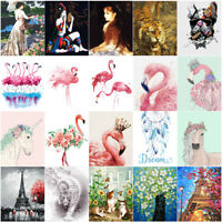 Flamingo Unicorn Flowers Horse Paint By Number 40*50cm DIY Painting Canvas Frame