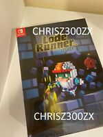 Lode Runner Legacy Collector's Edition Nintendo Switch + Soundtrack + Art Book